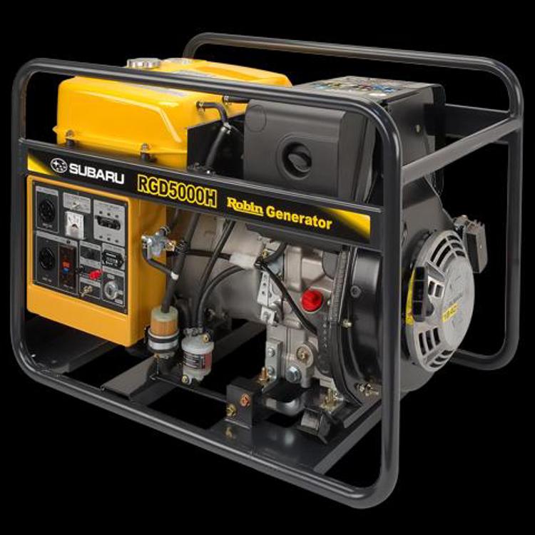 Picture of Subaru Diesel Generators - 3000 to 5000 Watts
