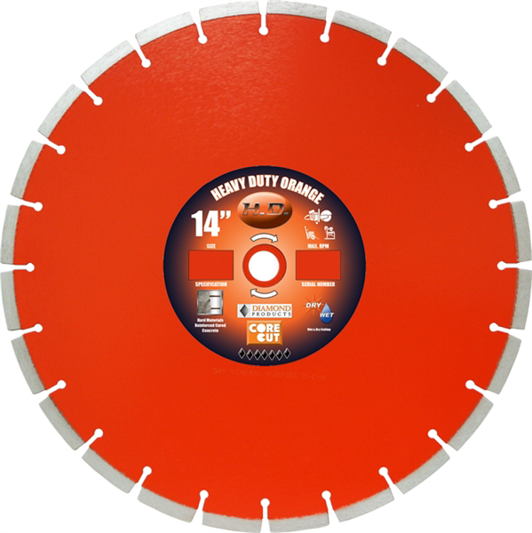 Picture of HH - Heavy Duty Orange - High Speed
